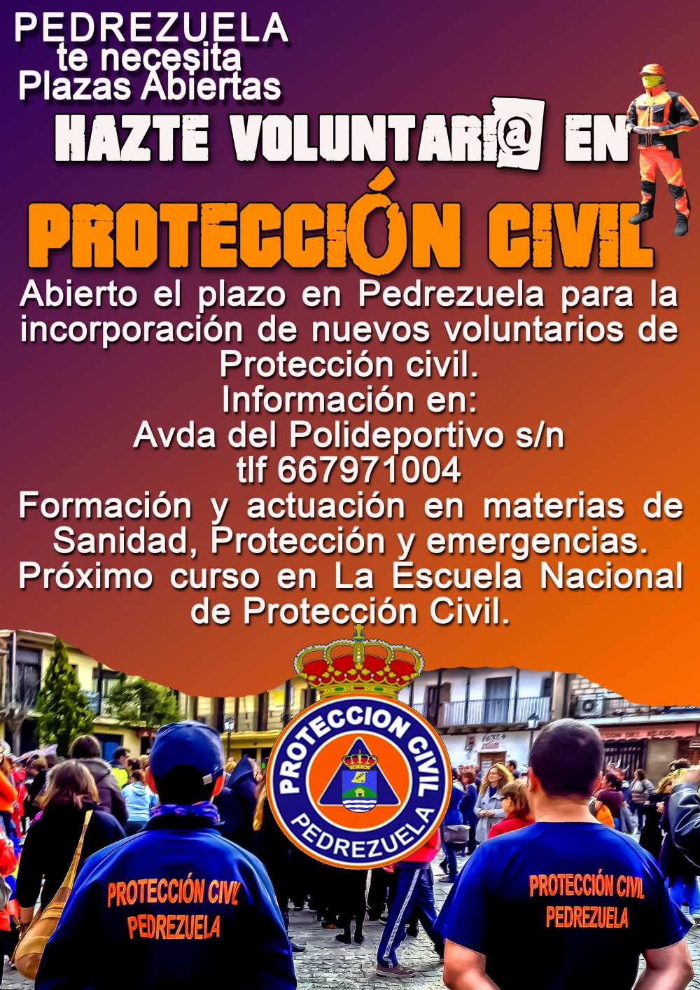 Cartel voluntarios